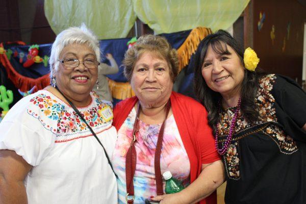 senior ladies at HACA event in East Austin